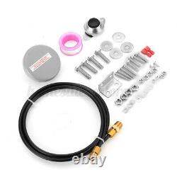 1.5 Gallon 150PSI Air Compressor Tank Gauge With 4 Trumpets Horn Car Boat Truck