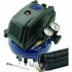 1 Gallon Pancake Air Compressor Kit, No FP260000DI, Campbell Hausfeld