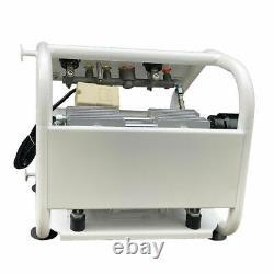 1 HP 2 Gallons Ultra Quiet Oil-free Air Compressor 110V 60Hz 3.9cfm 0.8mpa