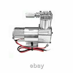 1 Universal Air Compressor WithAir Tank 0.55 Gallon, 2.1 Litre Ride Suspension/Horn