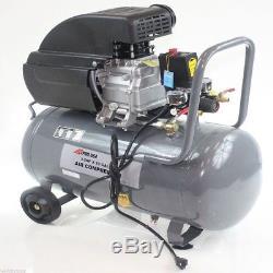 10 Gallon Steel Tank 3.5 HP Motor Air Compressor 145 PSI Oil Lubricated Motor