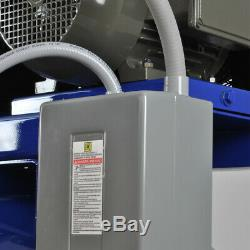 10HP Air Compressor V4 Single Phase 80 Gallon Tank Horizontal
