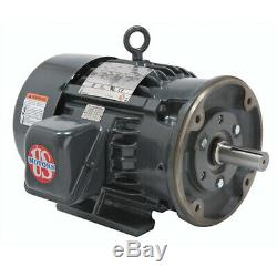 10HP Rotary Screw Air Compressor with 120 Gallon Tank Single Phase Fixed Speed