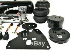 1963-1972 C10 Air Ride Complete Front & Rear Bag Kit 5 Gallon Dual Compressors W