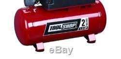 2 Gallon Portable Electric Hot Dog Air Compressor 100 PSI 1/3 HP Oil Free Pump
