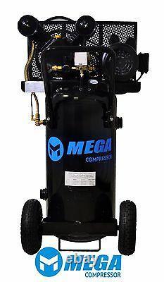 2 HP MegaPower Vertical Air Compressor, 20 Gallon, Single Stage, MP-2020EV
