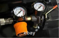 20-Gallon Oil-Lubricated Portable Vertical Air Compressor