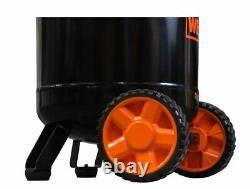 20-Gallon Oil-Lubricated Portable Vertical Air Compressor 2202