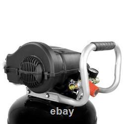 20 Gallon Vertical Electric Air Compressor Portable 200 PSI Wheel Quiet Slim NEW