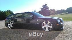 2005-18 Chrysler 300 Air Suspension Lowering Kit 580 Chrm Compressors, X4 & Tank