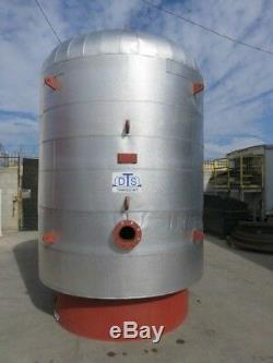 2500 gallon air receiver tank insulated 125 PSI never in service