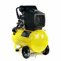 3.5HP Motor Pneumatic Portable Air Compressor 125 psi 10 Gallon Tank Hot Dog