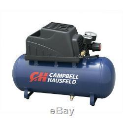 3 Gallon Portable Compressor Pancake Oilless Pump 110 Psi Air Hose Inflation Gun