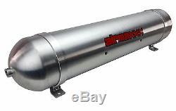 33 Seamless Aluminum Air Tank Raw 5 Gallon 7 Port Air Ride Suspension System