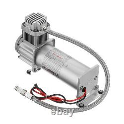 5 Gallon Air Tank 200 PSI Compressor Onboard System Train Truck RV Horn 12V DC