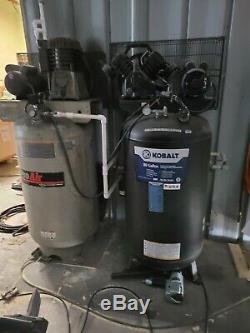 5-HP 80-Gallon 155-PSI 230-V, Single-Stage Vertical Air Compressor