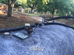 500 gallon Propane tank Trailer Mounted