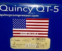 5HP QUINCY QT5 PISTON 120 GALLON 230/460 Volt Compressor