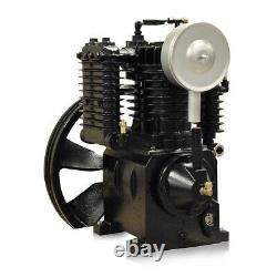 5HP Single Phase 2 Stage 120 Gallon Tank Vertical Air Compressor Quiet