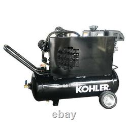 6.5 HP Gas Driven Air Compressor Service Truck Mount 20 Gallon-Kohler Engine