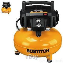 6 Gallon Pancake Air Compressor Bostitch BTFP02012 Tool 150 Max PSI Oil Free New