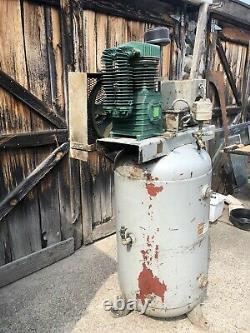 60 Gallon 2 Stage 3HP Air Compressor 220V Rebuilt Pump Not Used Yet