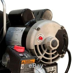 60 Gallon Stationary Electric Air Compressor Garage Industrial Vertical Steel