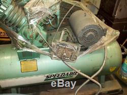 7.5 HP 120 Gallon Horizontal Air Compressor 2 Stage