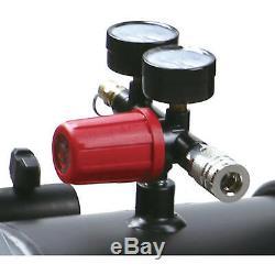 8 Gallon Hotdog Oil-free Portable Air Compressor Spray Gun Universal Motor New