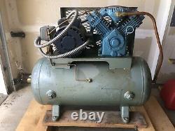 80 Gallon 7.5 HP Single Phase Horizontal Air Compressor