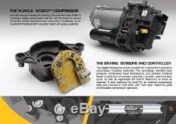 ACCUAIR ENDO-CVT 4 Valve 5 Gallon Raw Aluminum Air Tank/Compressor/Valve Combo