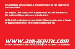 AIR-ZENITH 300psi aluminum air tank 3-gallon