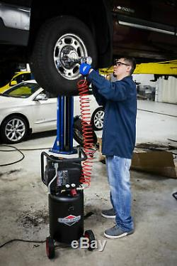 Air Compressor 10 Gallon Vertical Tank 150 PSI Vertical OilFree Pump Large Wheel