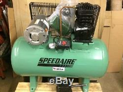 Air Compressor 3HP, 3PH, 30 Gallon Speedaire Model 4B237 NEW