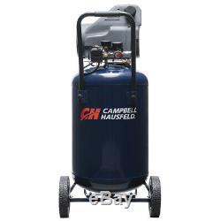 Air Compressor Portable Campbell Hausfeld 20 Gallon Oil Free Quiet Motor
