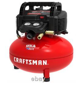 Air Compressor Small Portable Hose Accessories 6 Gallon Tool Electric Craftsman