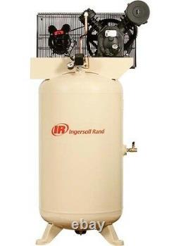 Air Compressor & Start Kit 80 Gallon 230V 5 HP 175 PSI 1 Ph 14.7 CFM