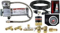 Air Tow Assist Kit No Drill 99-06 Chevy Silverado 1500 Compressor Tank Control