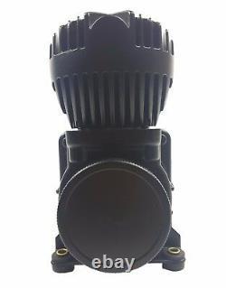 Airmaxxx dual black 580 air compressors & 5 gallon aluminum air tank suspension