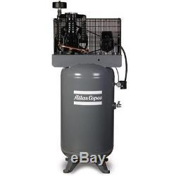 Atlas Copco AR5EV 5-HP 60-Gallon Two-Stage Air Compressor (230V 1-Phase)