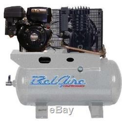 BelAire 59G3HR 9-HP 30-Gallon Horizontal Gas Powered Truck-Mount Air Compressor