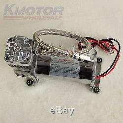 Brand New 12V With 2.5 Gallon Tank Medium Duty Onboard Air System Air Compressor