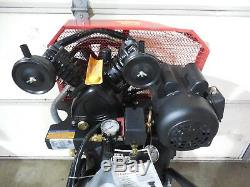 Brandname 20-gallon Portable Belt Drive Single-stage 2-hp Air Compressor