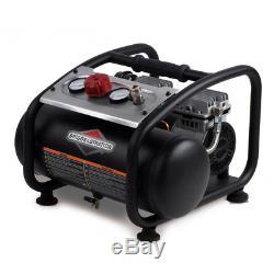 Briggs & Stratton 3 Gallon Quiet Portable Electric Air Compressor