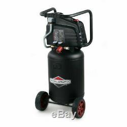 Briggs & Stratton Air Compressor 10 Gallon 1.8HP 150 PSI Vertical Oil Free