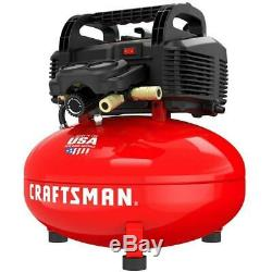 CRAFTSMAN 6-Gallon Single Stage Portable Electric Pancake Air Compressor