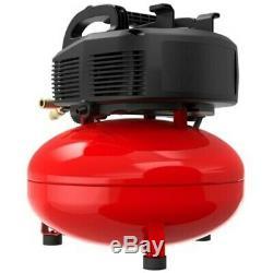 CRAFTSMAN 6-Gallon Single Stage Portable Electric Pancake Air Compressor Compact