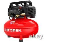 CRAFTSMAN 6Gallon Single Stage Portable Electric Pancake Air Compressor CMEC6150