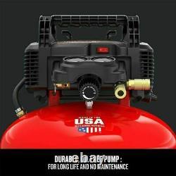 CRAFTSMAN Pancake Air Compressor 6-gallon Oil-Free Portable Electric 150-PSI Max