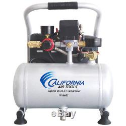 California Air Tools 1P1060S 1-Gallon. 6-Hp Steel Tank Portable Air Compressor